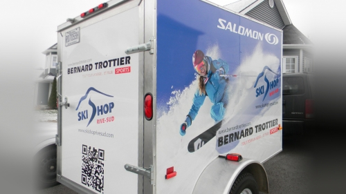 Bernard Trottier Sport / Salomon - Wrap trailer