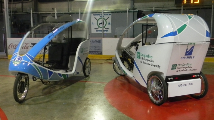 Ville de Chambly - Wrap Duo bike