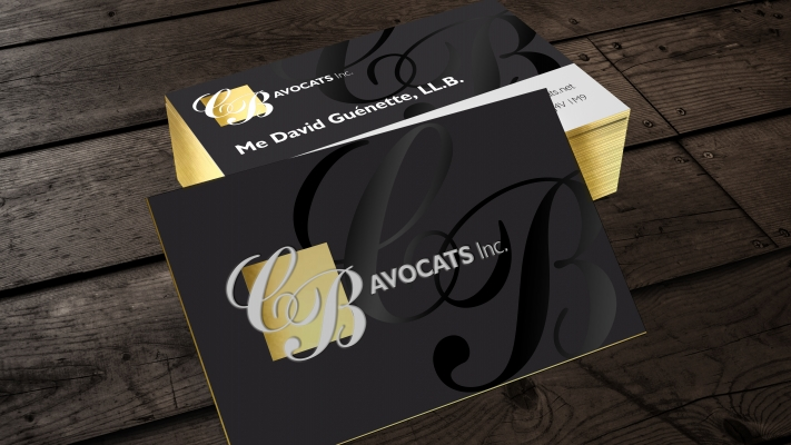BC Avocats - Cartes d'affaires