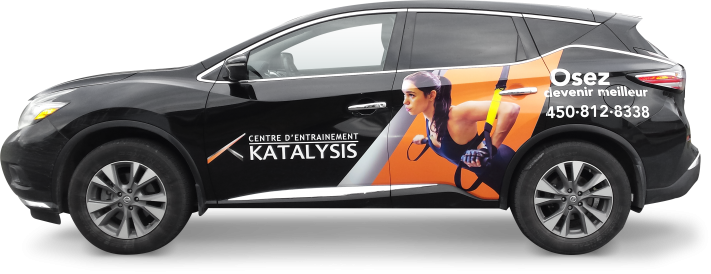 Car wrapping and decal - Katalysis