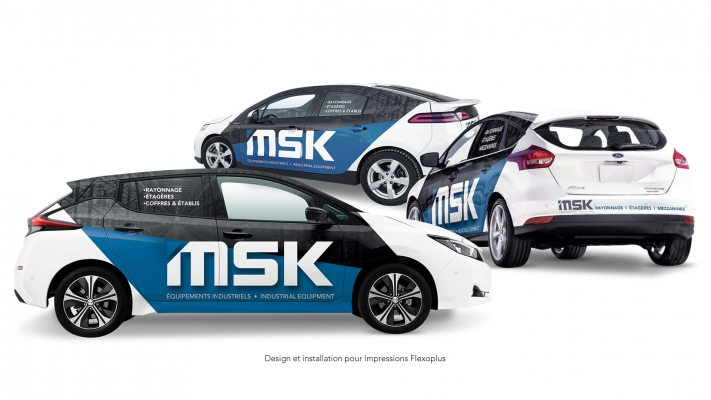 Car wrapping and decal - MSK